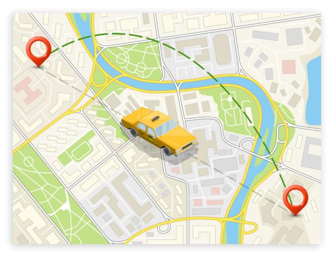 AI(人工知能)-タクシー